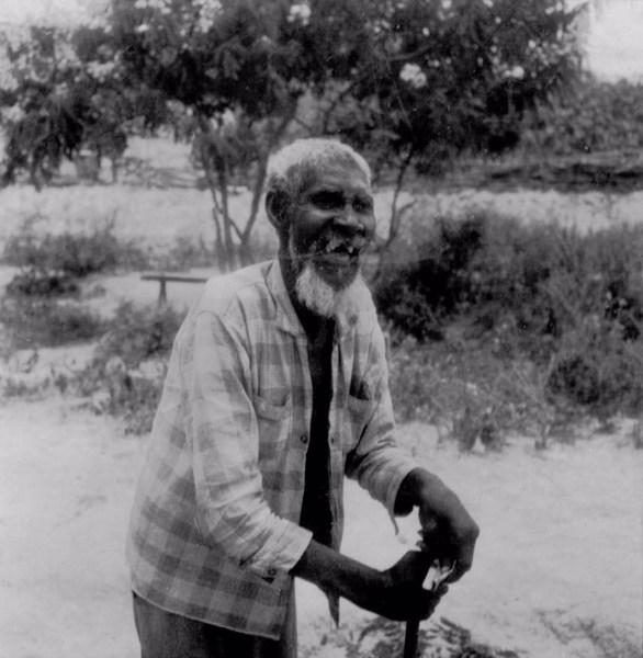 Morador no Arraial de Cutia em Conceição do Coité (BA) - fev. 1962