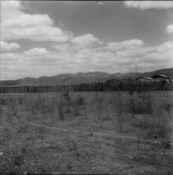 Serra das Bananeiras em Jacobina (BA) - 1962
