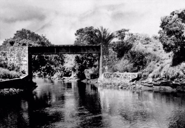 Trecho do canal de Itaipe - Ilhéus (BA) - 1953