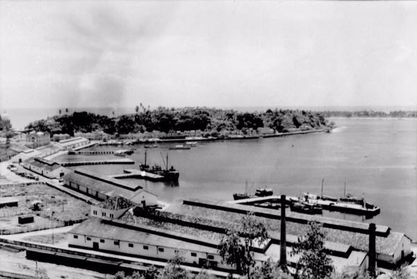 Porto de Ilhéus (BA) - 1953