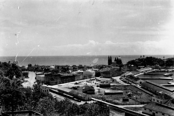 Vista parcial da cidade de Ilhéus (BA) - 1953