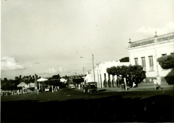 Praça Cônego Franculino : Amargosa, BA - [19--]
