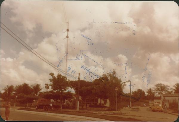 Praça das Comunicações : Amélia Rodrigues, BA - [19--]