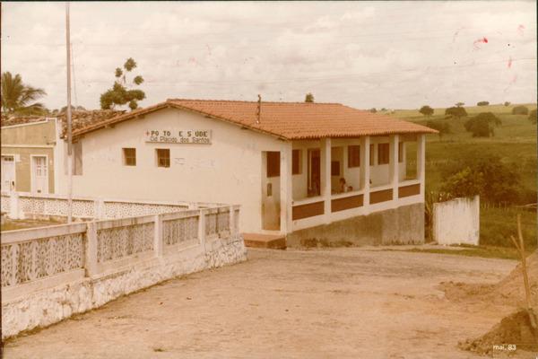 Posto de Saúde Cid Plácido dos Santos : Antônio Cardoso, BA - 1983