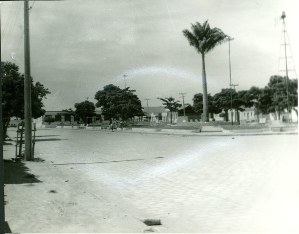 Praça Napoleão Ferraz : Belo Campo, BA - [19--]