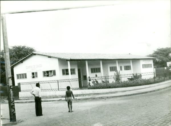 Centro de Saúde Dr. Jurandir Xavier Brito : Boquira, BA - [19--]