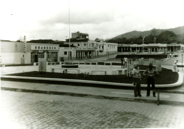 Praça Domingos Cabral : Praça Rui Barbosa : Buerarema, BA - [19--]