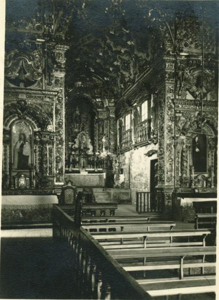 Capela-Mor : Igreja da Ordem Terceira do Carmo : Cachoeira, BA - [19--]