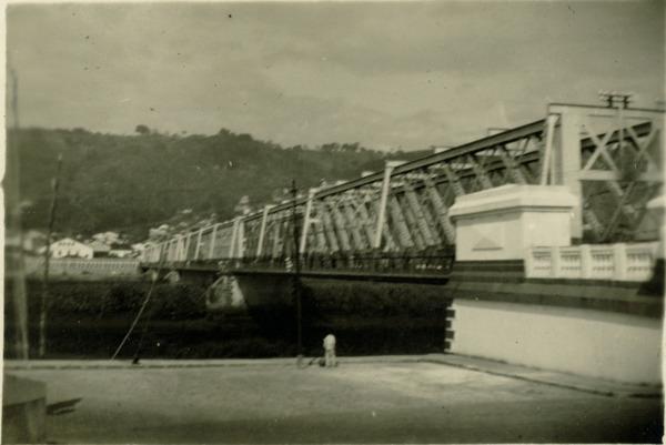Ponte Dom Pedro II : Cachoeira, BA - 1949