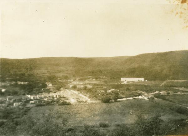 Vista aérea da cidade : Caetité, BA - [19--]