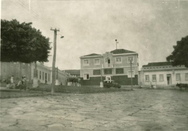 Palácio episcopal : Caetité, BA - [19--]