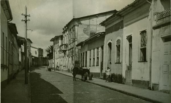Vista parcial da cidade : Cairu, BA - 1957