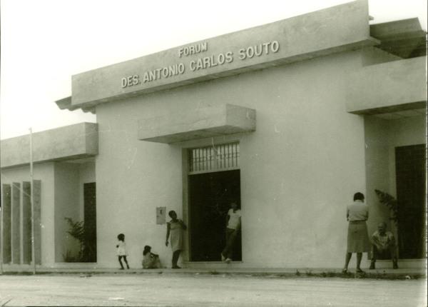 Fórum Des. Antonio Carlos Souto : Camacan, BA - [19--]