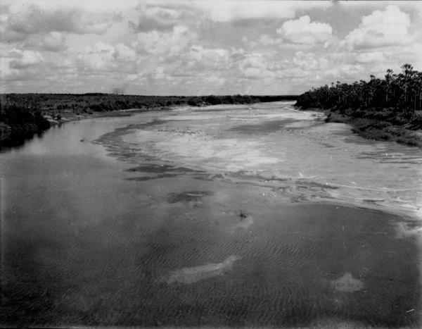Rio Banabuiú em Limoeiro do Norte (CE) - jun. 1952