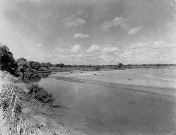 Cotovelo do Rio Jaguaribe em Icó (CE) - jun. 1952