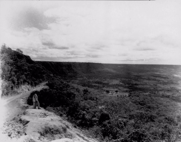 Chapada do Araripe no Vale do Cariri no município do Crato (CE) - jun. 1952