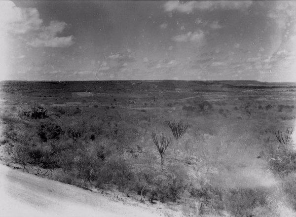 Chapada do Araripe em Santana do Cariri (CE) - jun. 1952