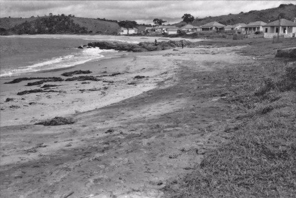Aspecto das areias monazíticas nas praias de Irirituba - M. de Anchieta (ES) - 1958