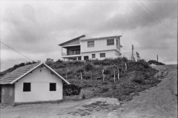Residências arquitetônicas na cidade de Guarapari (ES) - 1958