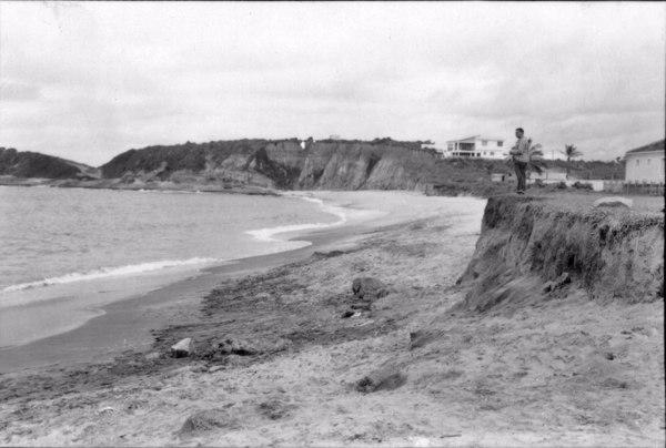 Areias monazíticas na praia de Guarapari (ES) - 1951
