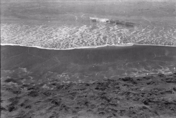 Areias monazíticas na praia de Guarapari (ES) - 1958