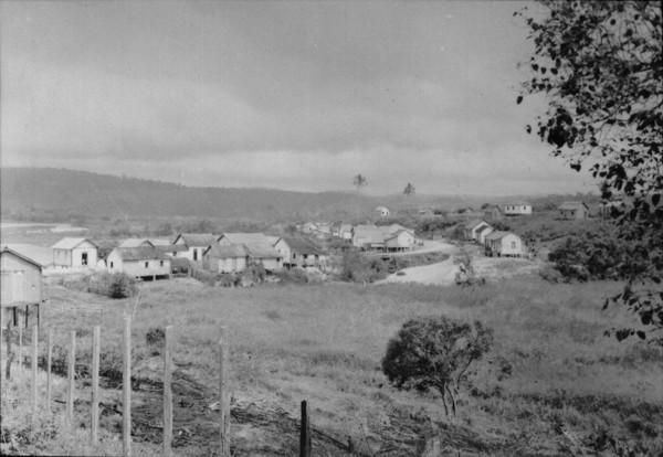 Patrimônio da Lagoa. Vista das casas principais (ES) - 1952
