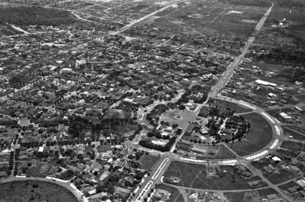 Vista aérea de Goiânia (GO) - 1957