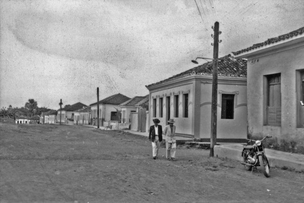 Rua principal de Formosa (GO) - 1957