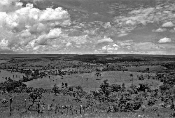 Fazenda de gado próximo a Corumbá de Goiás (GO) - 1957