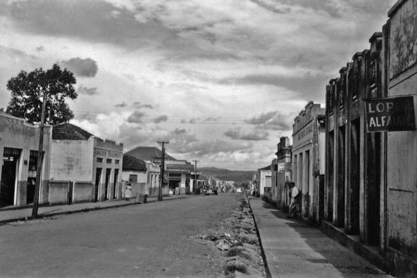 Vista parcial de Inhumas (GO) - 1957