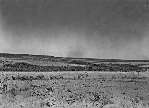Região perto da cidade de Pirenópolis (GO) - 1954