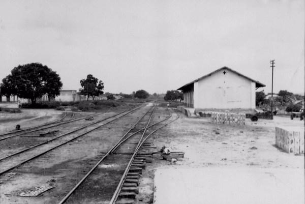 Estação Ferroviária de Codó (MA) - 1957