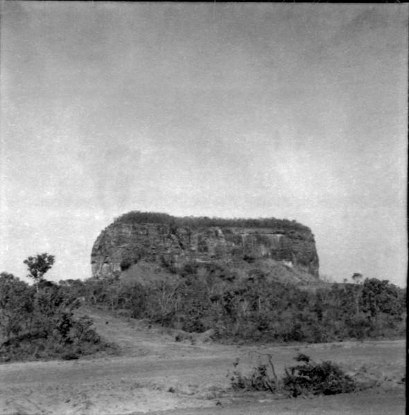 Relevo e cerrado em Imperatriz (MA) - déc. 60