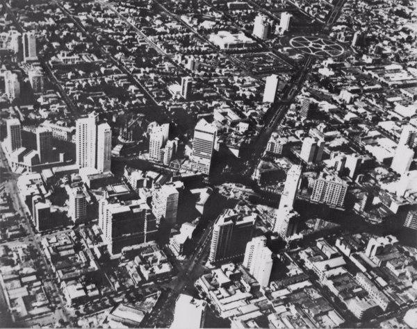 Vista aérea de Belo Horizonte (MG) - 1953