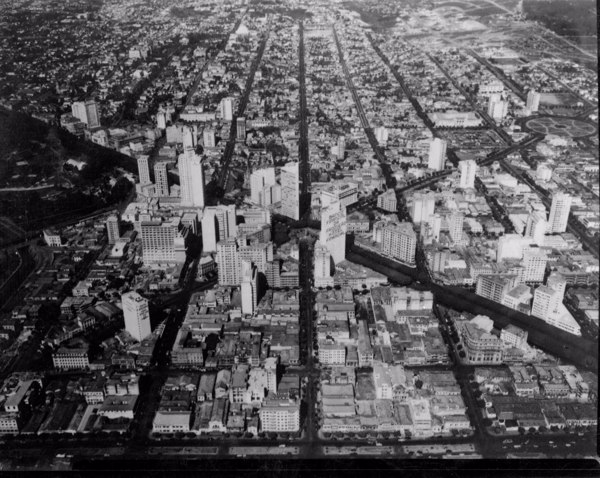 Vista aérea de Belo Horizonte (MG) - 1955