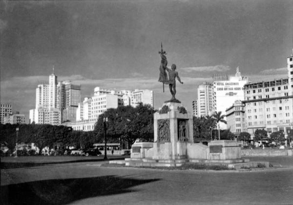 Praça Raul Soares : Município de Belo Horizonte - 1956