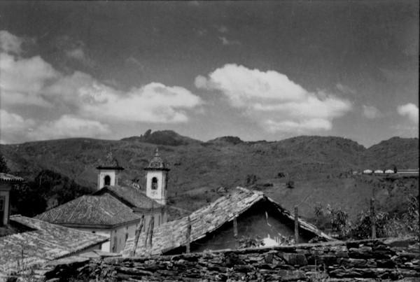 Pico de Itacolomi em Ouro Preto (MG) - 1956