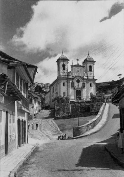 Igreja Matriz de N.Srª da Conceição em Ouro Preto (MG) - 1956