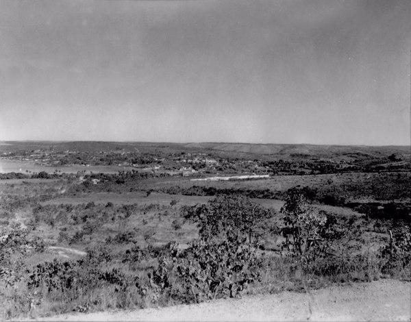 Cidade de Lagoa Santa (MG) - 1954
