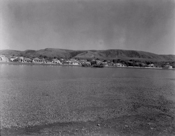 Lagoa Paulino na cidade de Sete Lagoas (MG) - 1954