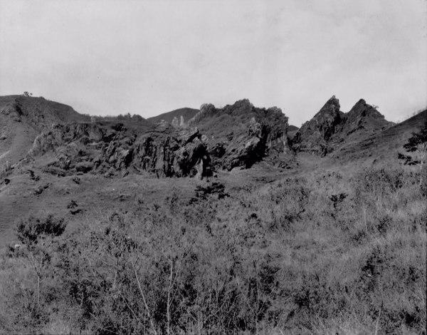Serra dos Trovões em Itabirito (MG) - 1954