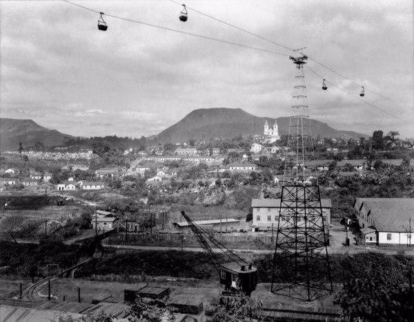 Mina de Ouro Morro Velho : Município de Nova Lima - 1954