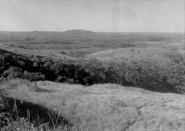 Serra da Saudade na cidade de mesmo nome (MG) - 1954