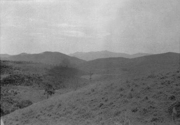 Serra do Espinhaço em Santa Bárbara (MG) - set. 1952