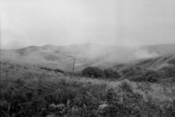 Relevo da cidade de Itabirito (MG) - set. 1952