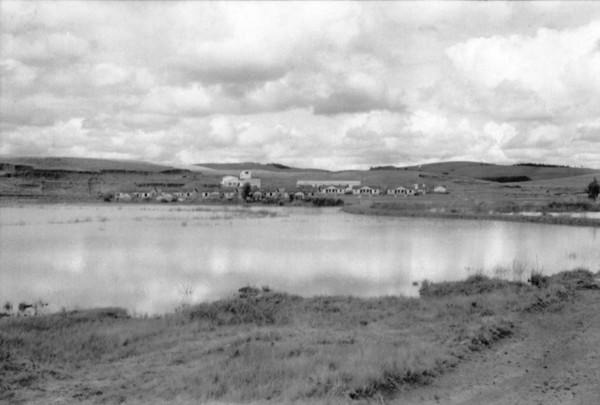 Casa dos trabalhadores da CBA em Poços de Caldas (MG) - 1958
