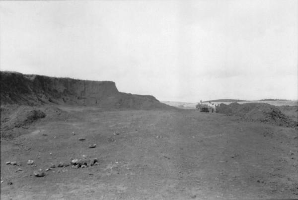 Local para a extração de bauxita em Poços de Caldas pela CBA (MG) - 1958