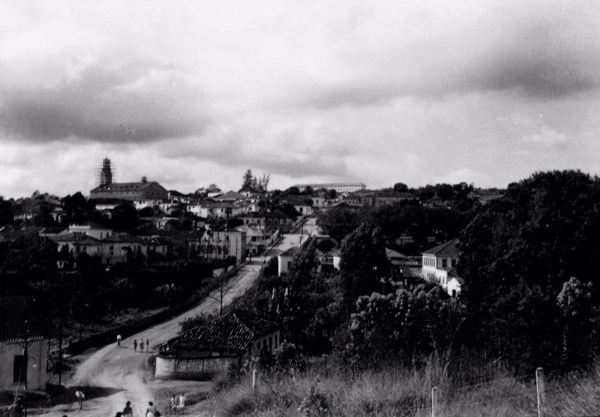 Cidade de Paraguaçu (MG) - 1958
