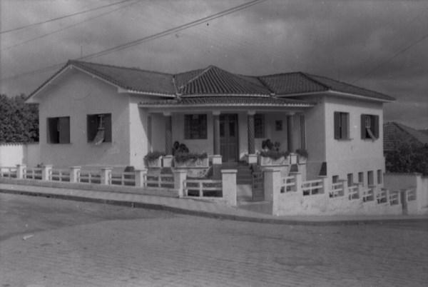 Casa na cidade de Paraguaçu (MG) - 1958