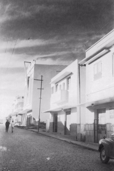 Rua de Nepomuceno (MG) - 1958